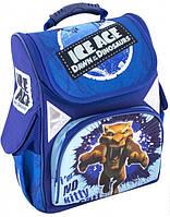 """Брендовый школьный рюкзак на молнии для мальчиков 6+, синий CFS 13,4"""", 700, IA09800"""