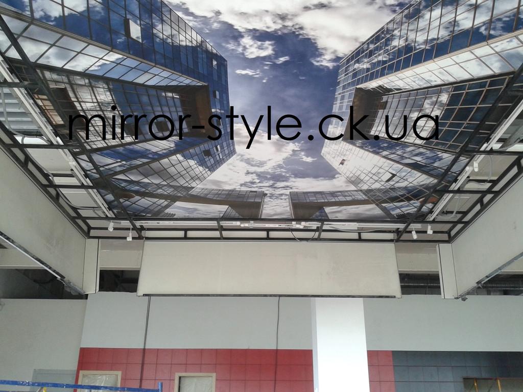 Фотопечать на натяжном потолке в Черкассах