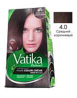 Краска для волос Vatika Naturals средний коричневый (набор 50мл+50мл)