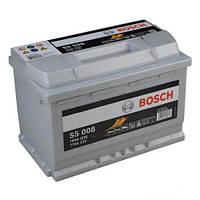 Автомобильный аккумулятор Bosch 6CT-77 S5 Silver Plus (S5008)
