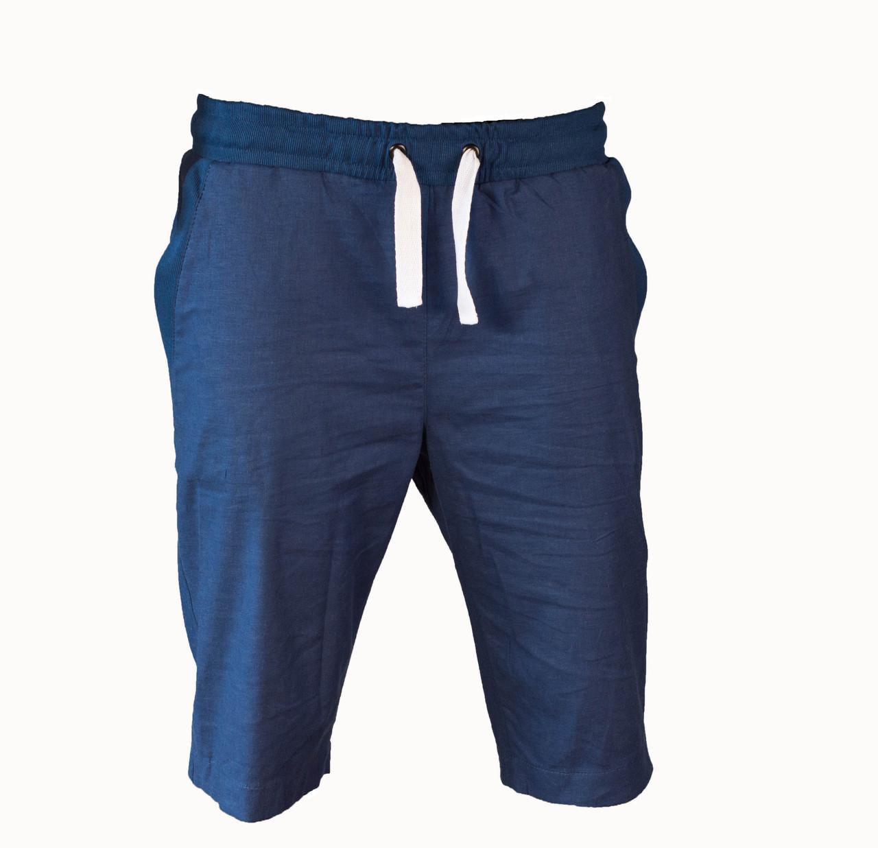 Мужские  молодёжные шорты лён