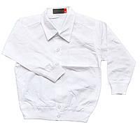 Школьная рубашка с длинным рукавом для мальчиков.размеры от 4 до 7 лет