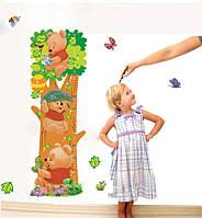 """Виниловая наклейка на стену """"Ростомер Винни пух"""" , фото 1"""