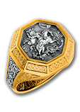 Охранное кольцо Великомученик Георгий Победоносец, фото 7