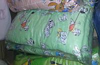 Защита для детской кроватки Салатовые Далматинцы