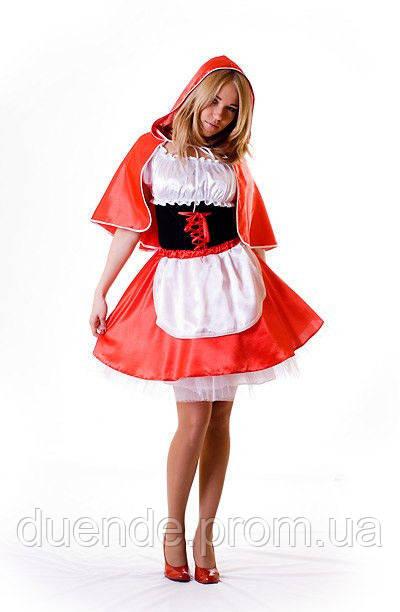 Червона шапочка карнавальний жіночий костюм / BL - ВЖ74