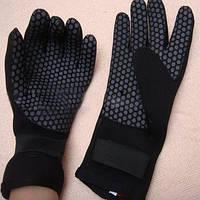 Перчатки для зимнего дайвинга неопрен 3 мм