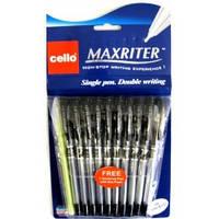 "Ручка шариковая""MAXRITER"" Cello 727F (черная)"