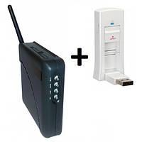 3G модем Pantech UM175 + WiFi-роутер Unefon MX-001
