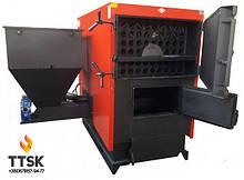 Пеллетные котлы Еmtas EK3G-CS/S двойной шнек промышленная серия 140-1535 кВт