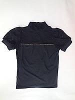 Гольф-блузка для девочек от 6 до 8 лет, школьная форма для девочек