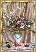 Фотообои на кухню картина Цветы  размер 140 х 97 см