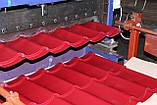Металлочерепица монтерей 0,4 3005(красный), фото 2