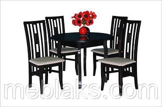 """Стол в гостинную деревянный раскладной """"Элис"""" 100(+40)х100х75 см Fusion Furniture, фото 3"""