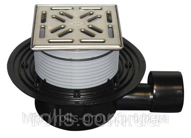 HL5100Pr Трап для внутренних помещений DN50/75 горизонт. выпуск, Hutterer&Lechner GmbH (Австрия)