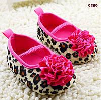 Пинетки-туфли для девочки. 10, 11, 12 см, фото 1