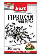 Инсектицид Фипроксан,(30г) – готовые гранулы для борьбы со всеми видами муравьев в помещении и на грунте