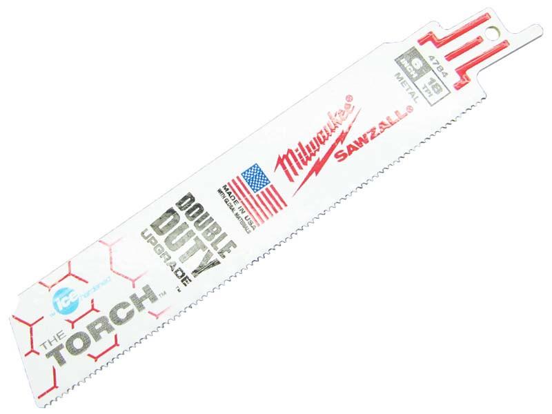 Пильное полотно Milwaukee Ice Edge 150х1,4мм металлу 2-8мм, сталь Matrix II, 8% кобальт, Bi-Metal, 1шт