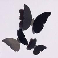 3Д-бабочки набор декоративных бабочек Вдохновение (картонные 3d наклейки)