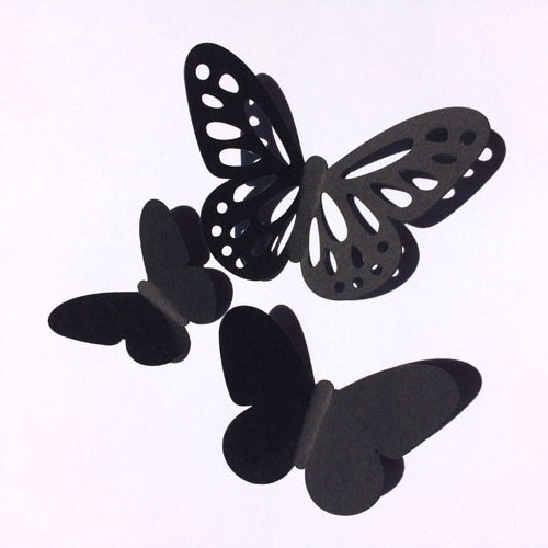 3Д-бабочки набор наклеек Воздушный