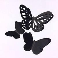 3Д-бабочки набор наклеек Воздушный , фото 1