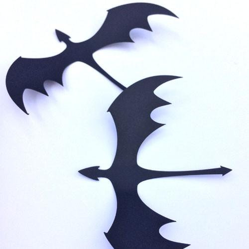 3Д-декор набор Дракон (декоративные 3d наклейки Хеллоуин декор) матовая картон Набор 6 шт.