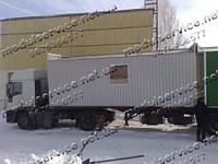 Изготовление бытовок в Днепропетровске