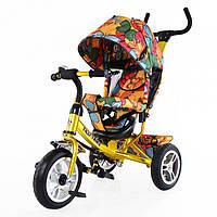 Велосипед трехколесный TILLY Trike T-351-7 Gold
