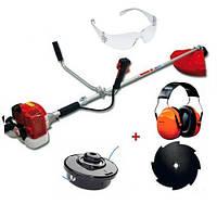 Мотокоса Maruyama MX21H + наушники, очки, режущий диск, косильная головка (363917А)