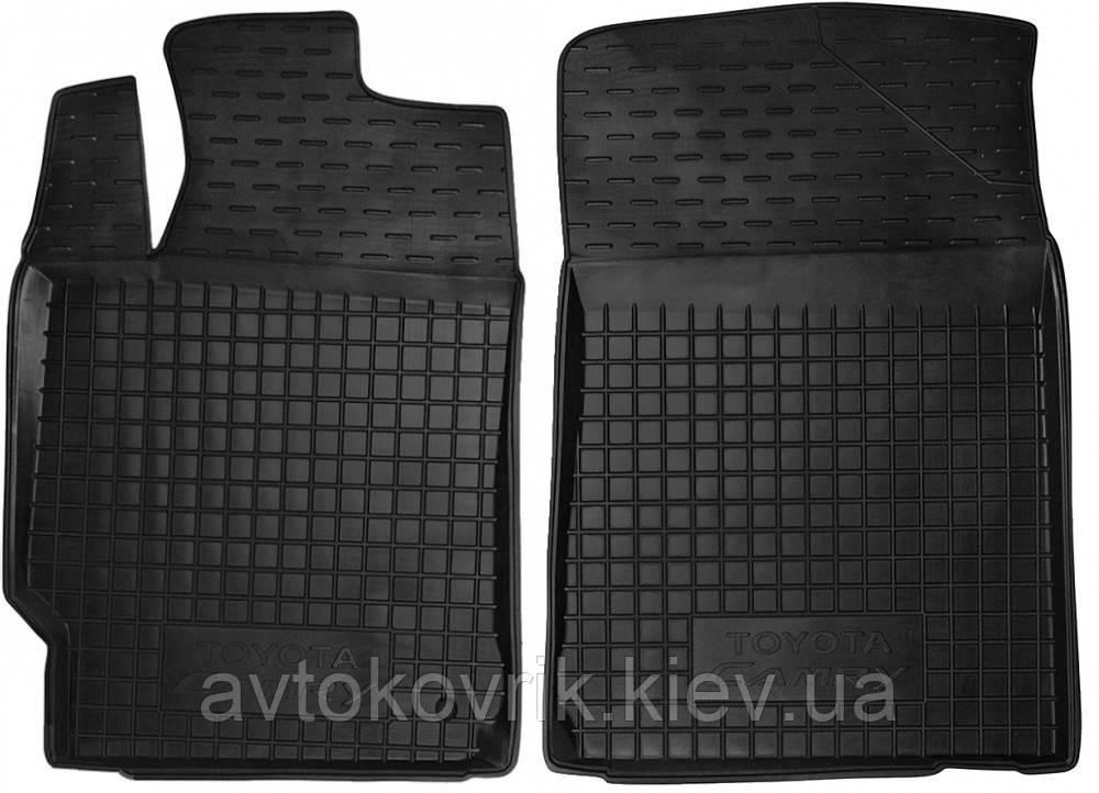 Полиуретановые передние коврики в салон Toyota Camry XV50 2011- (AVTO-GUMM)