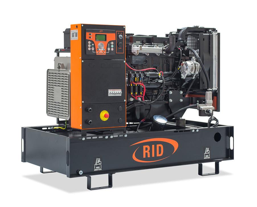 Дизельний однофазний генератор RID 30/1 E-SERIES (24 кВт) відкритий + автозапуск
