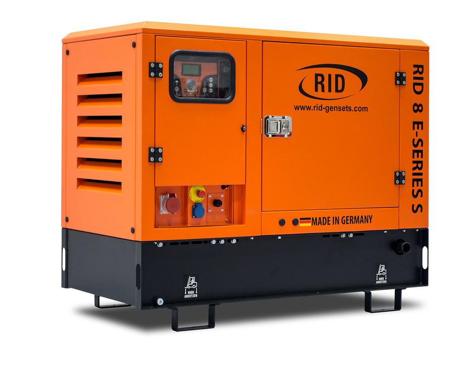 Трьохфазний дизельний генератор RID 8 E-SERIES S (6,4 кВт) в капоті + зимовий пакет + автозапуск
