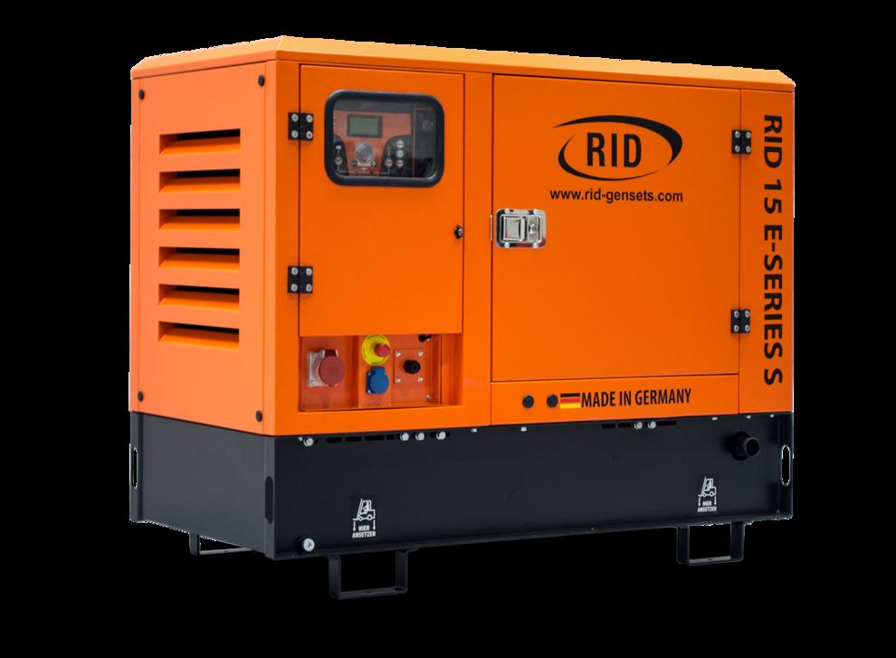 ⚡RID 15/1 E-SERIES S (15 кВт) в капоте + зимний пакет + автозапуск