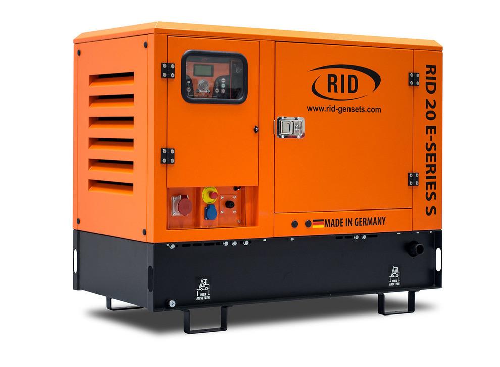 Трьохфазний дизельний генератор RID 20 E-SERIES S (16 кВт) (Автозапуск + Підігрів + GSM-Моніторинг)