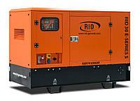 Трехфазный дизельный генератор RID 30 E-SERIES S (24 кВт) в капоте  + зимний пакет + автозапуск