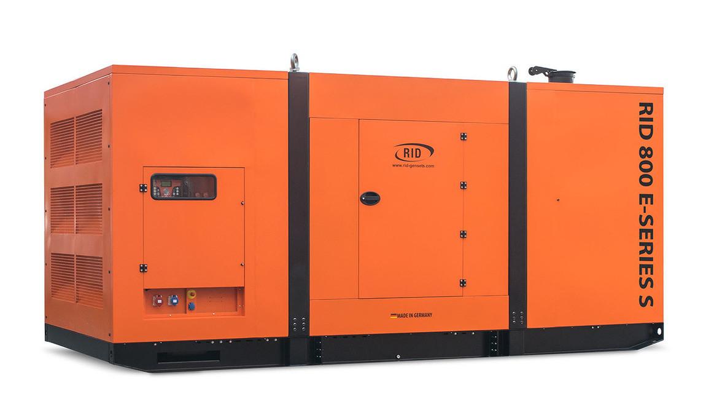 Трьохфазний дизельний генератор RID 800 E-SERIES S (640 кВт) в капоті + зимовий пакет + автозапуск