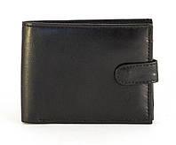 Кожанный, компактный мужской прочный кошелек SWAN art. B3125 black, фото 1