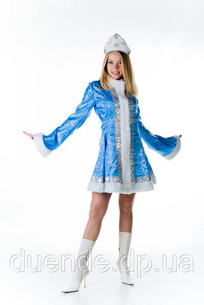 Снігуронька коротке пальто жіночий новорічний костюм / BL - ВЖ116