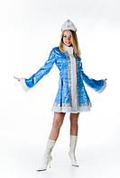 Снегурочка короткое пальто женский новогодний костюм