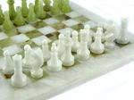 Шахматы, доска 30х30 см, оникс, Изделия из оникса, Днепропетровск, фото 1