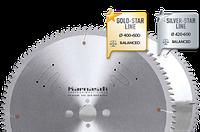Диск АЛЮ-НЕГАТИВ (тонкий пропил) D=550x 4,4/3,8x 30mm 132 TFN, c напылением GOLD-STAR