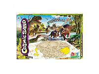 Песок для творчества 1 кг игровое поле, стека, формочки в коробке
