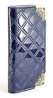 Стильный женский клатч-кошелек с лакированной искусственной кожи Б/Н art. 007