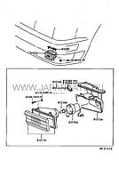 Фара противотуманная правая LEXUS LS400 89-94 г. в. Оригинал 81210-50010
