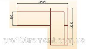 Угловой диван Милан 3050х2230мм от Берегиня, фото 2
