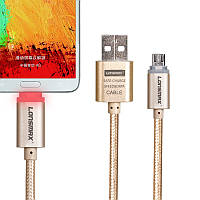 USB-micro Кабель Lonsmax с LED индикатором зарядки