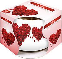 Ароматическая свеча BISPOL sn71s05 Любовь