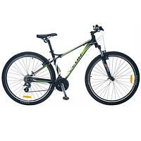 """Велосипед SKD 29""""  LEON TN 85 AM  рама-18"""" Al  черно-зелен. 2014 (SKD-LN-29-001-1)"""