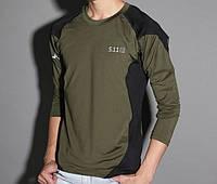 Качественные тактические футболки с длинным рукавом 5.11. Стильный дизайн. Купить футболку онлайн. Код: КДН297