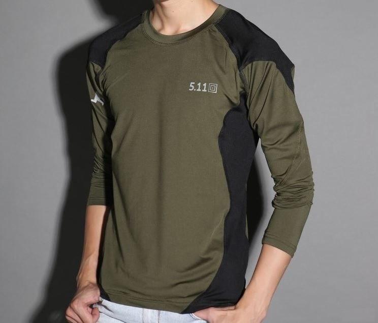 74239cbb40dd295 Качественные тактические футболки с длинным рукавом 5.11. Стильный дизайн.  Купить футболку онлайн. Код